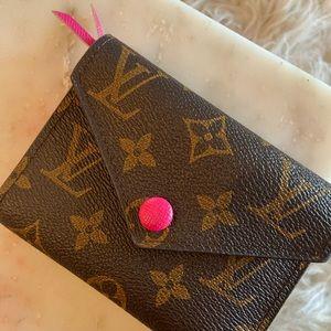 Louis Vuitton Victorine Pink Wallet